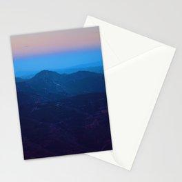 Spain Sunset Fog Stationery Cards