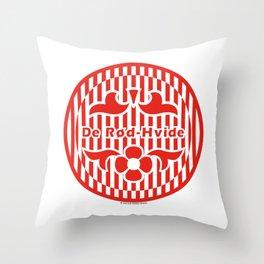 Denmark De Rød-Hvide (The Red-White) ~Group C~ Throw Pillow