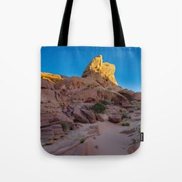 Colorful Sandstone, Valley of Fire - IIIa Tote Bag