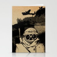 war Stationery Cards featuring War by Joseph Nathan