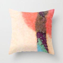 DK Stems Throw Pillow