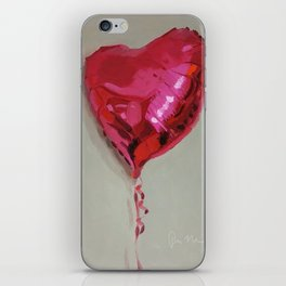 Magenta Balloon iPhone Skin