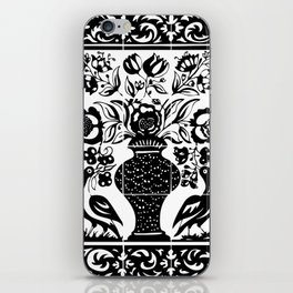 Old portuguese decorative tiles iPhone Skin