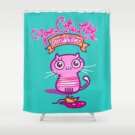 Your Cute Little Cat Shower Curtain