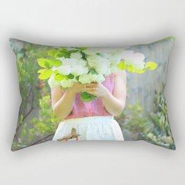 Big Bouquet of Snowballs Rectangular Pillow