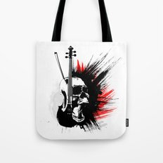 ViolinScull Tote Bag