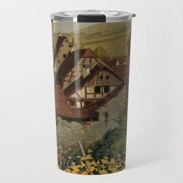 Vintage poster - Riquewihr Travel Mug