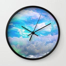 sea clouds Wall Clock