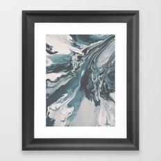 Teal (soul mate) Framed Art Print