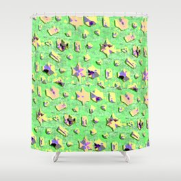 Surreal on the beach ... Shower Curtain