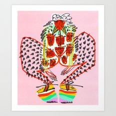 Wear the Rainbow Art Print