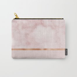 Silvec rosa on rose gold blush Carry-All Pouch