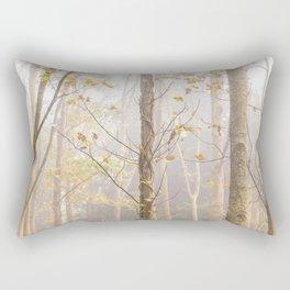 Last of the Autumn Gold Rectangular Pillow