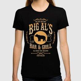 Big Al's Bar and Grill  T-shirt