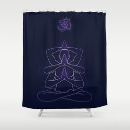 The Trinity Spectrum Shower Curtain