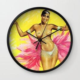 Movie Print of Josephine Baker starring in Heut' tanzt Wall Clock