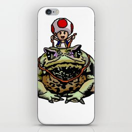 Toad Racing iPhone Skin