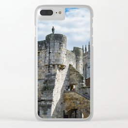 Bootham Bar and York Minster Clear iPhone Case
