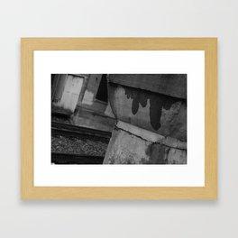 wisdoms ~ fld(X part iii) Framed Art Print