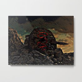Fallen Hero Metal Print