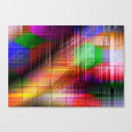 colourful linings II Canvas Print
