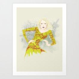 Batika Art Print