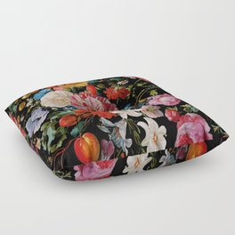 Night Garden XXXVI Floor Pillow