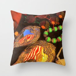 Edwardian Summer Of Love 1910 Throw Pillow