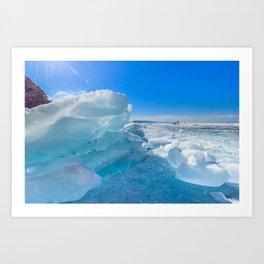 Incredible Baikal Art Print