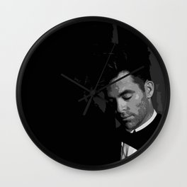Chris Pine 7 Wall Clock