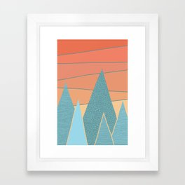 Sunset II Framed Art Print