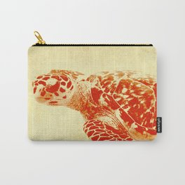 Turtle Stencil Carry-All Pouch