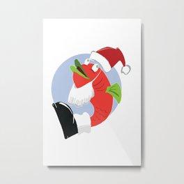Christmas Cod #2 Metal Print