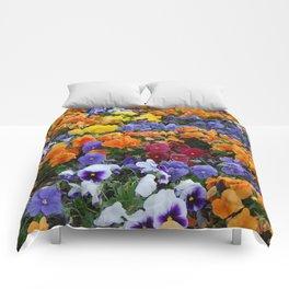 Pancy Flower 2 Comforters