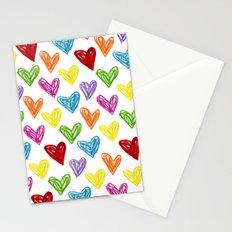 Hearts Parade Stationery Cards