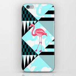 flamingo all days iPhone Skin