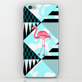 flamingo all days iPhone Skin