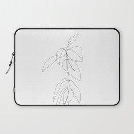 Still life plant drawing - Caca Laptop Sleeve