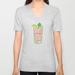 Bloody Mary Blessed of Cocktails Unisex V-Neck