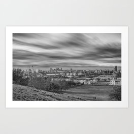 Greenwich View Art Print