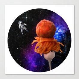 Space Spaghetti IRL Canvas Print