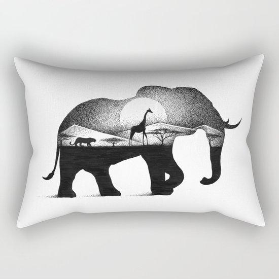 WILD AFRICA Rectangular Pillow