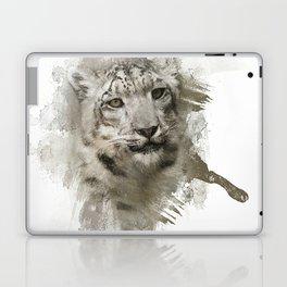 Expressions Snow Leopard Laptop & iPad Skin