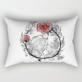 Ultil the last petal falls Rectangular Pillow