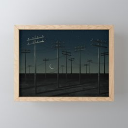 Strange Lands Framed Mini Art Print