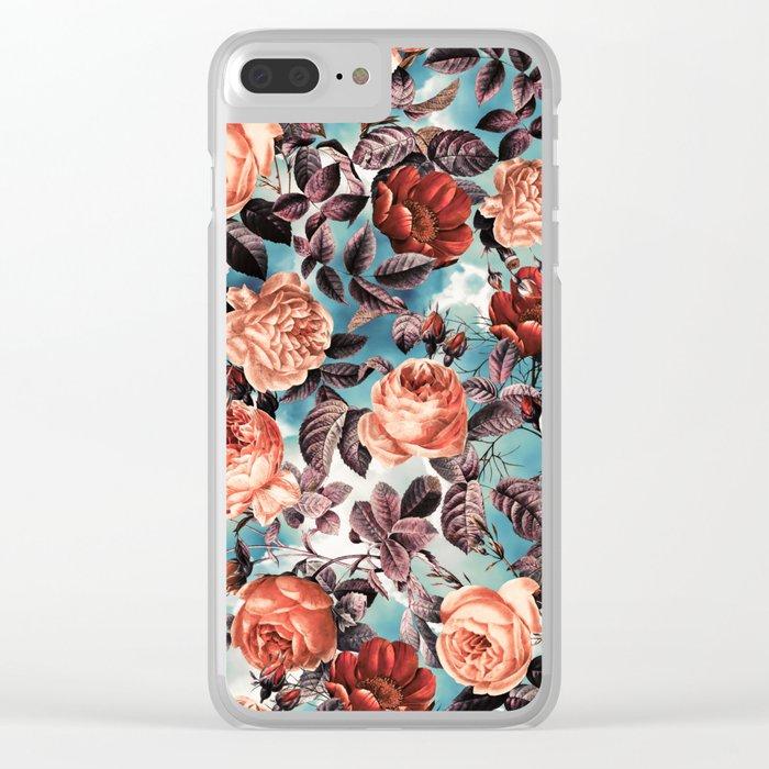 Summer Botanical Garden VI Clear iPhone Case