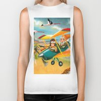 africa Biker Tanks featuring Africa by colortown