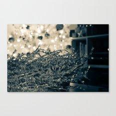 Silver Wreath  Canvas Print