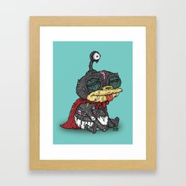 Zibbler Framed Art Print