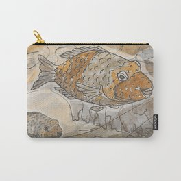 Fishes  /  Mirror underwater Carry-All Pouch